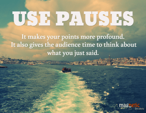 Remember to pause