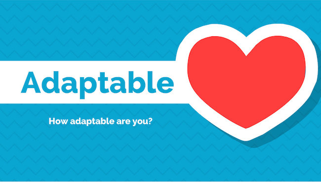 adaptable and flexible as a speaker