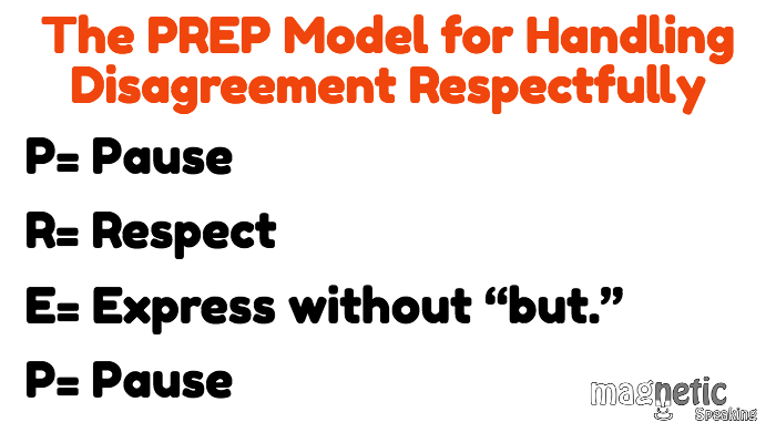 How To Respectfully Disagree