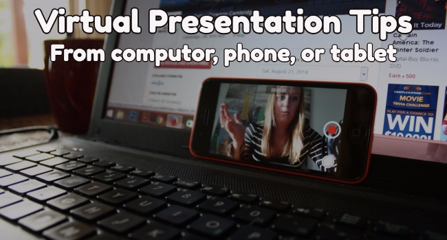 Virtual Presntations Tips