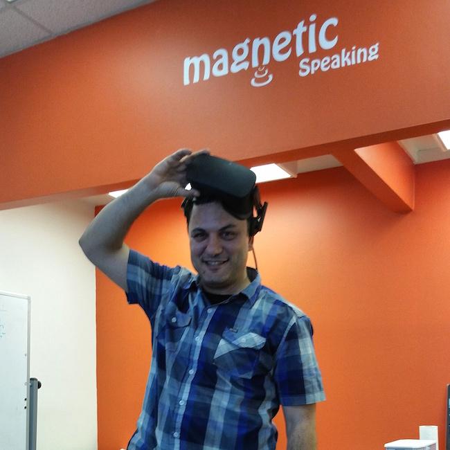 Virtual Presentation at Magnetic Speaking