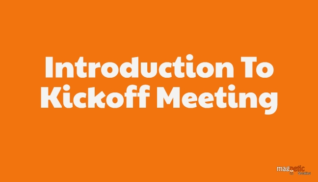 Project Kickoff Meeting Introduction