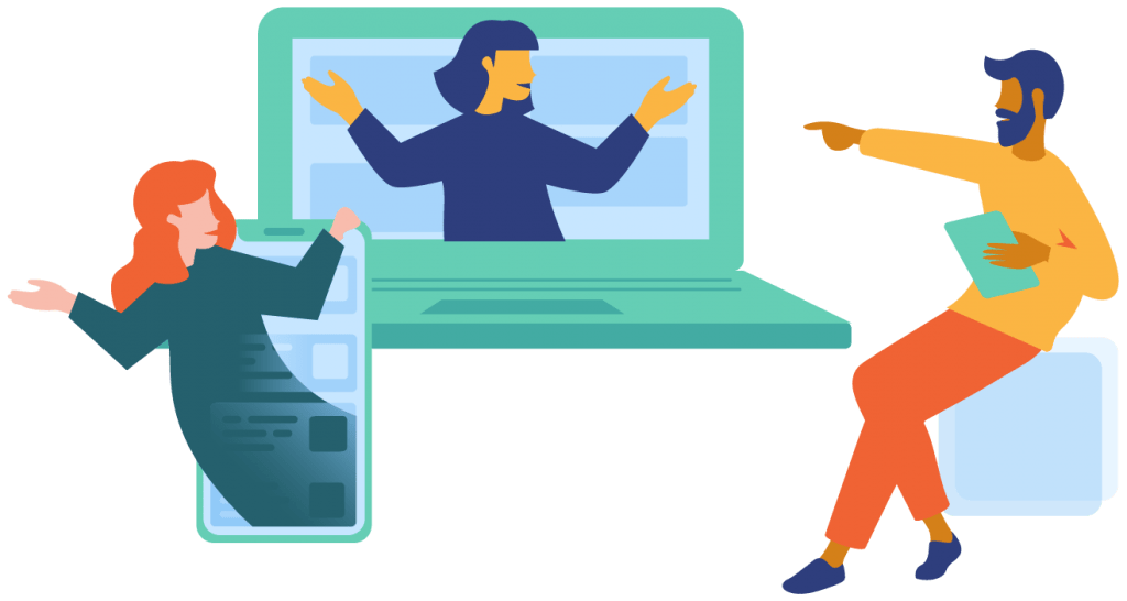 Virtual-job-interview