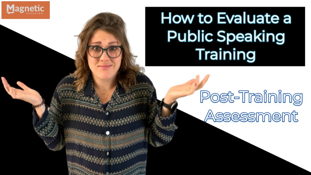 howtoevaluateapublicspeakingtraining