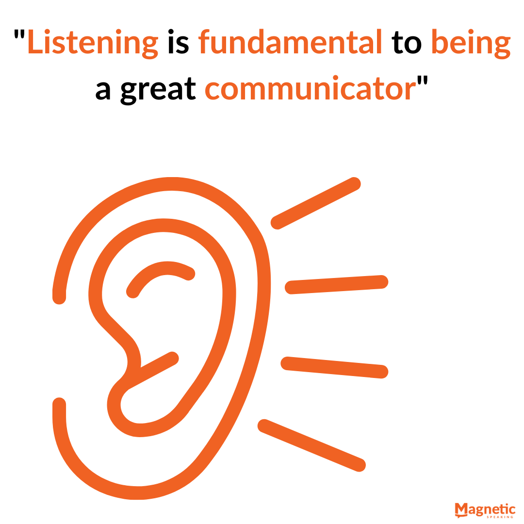 Listening to improve your communication skills at work