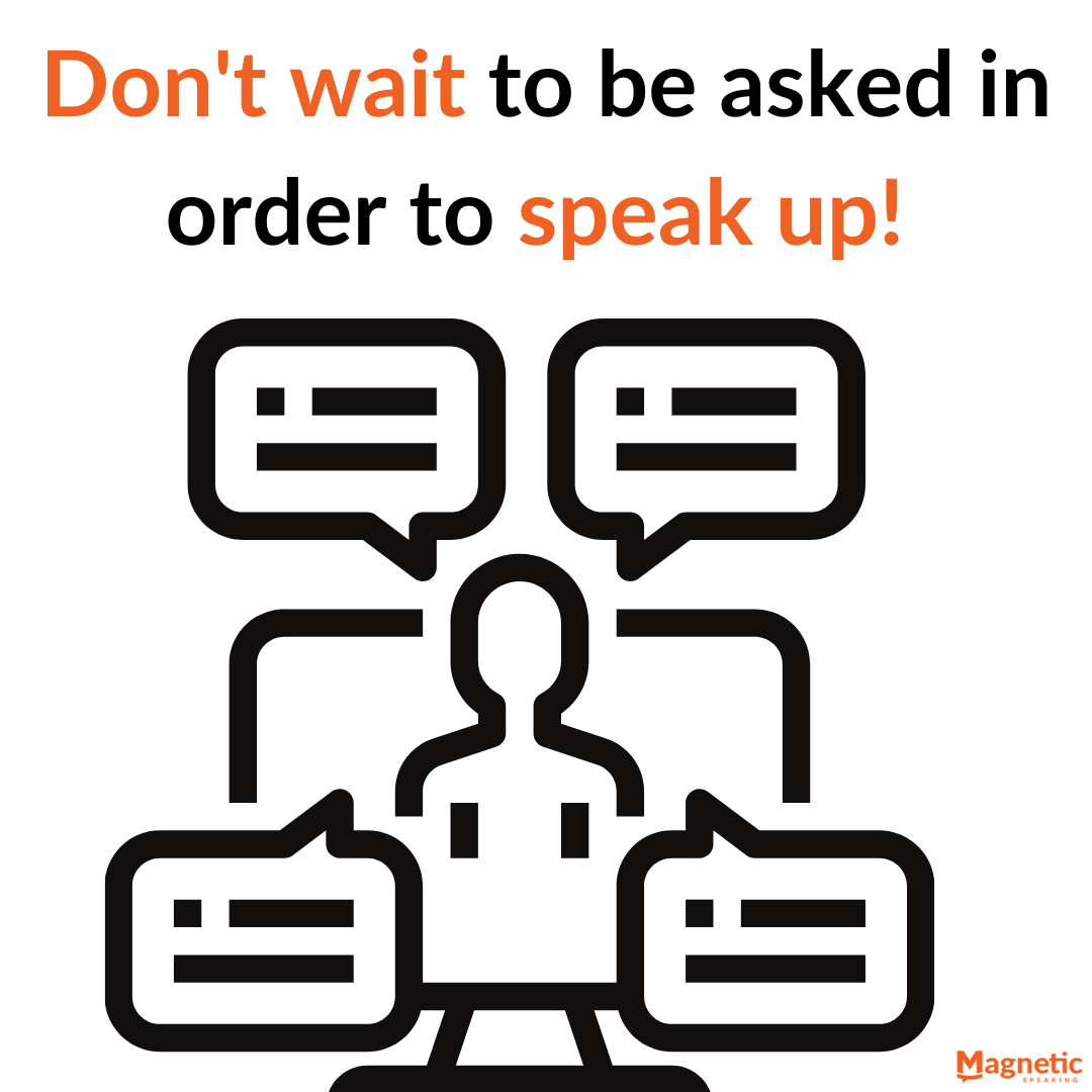 Speak up and improve your communication skills at work